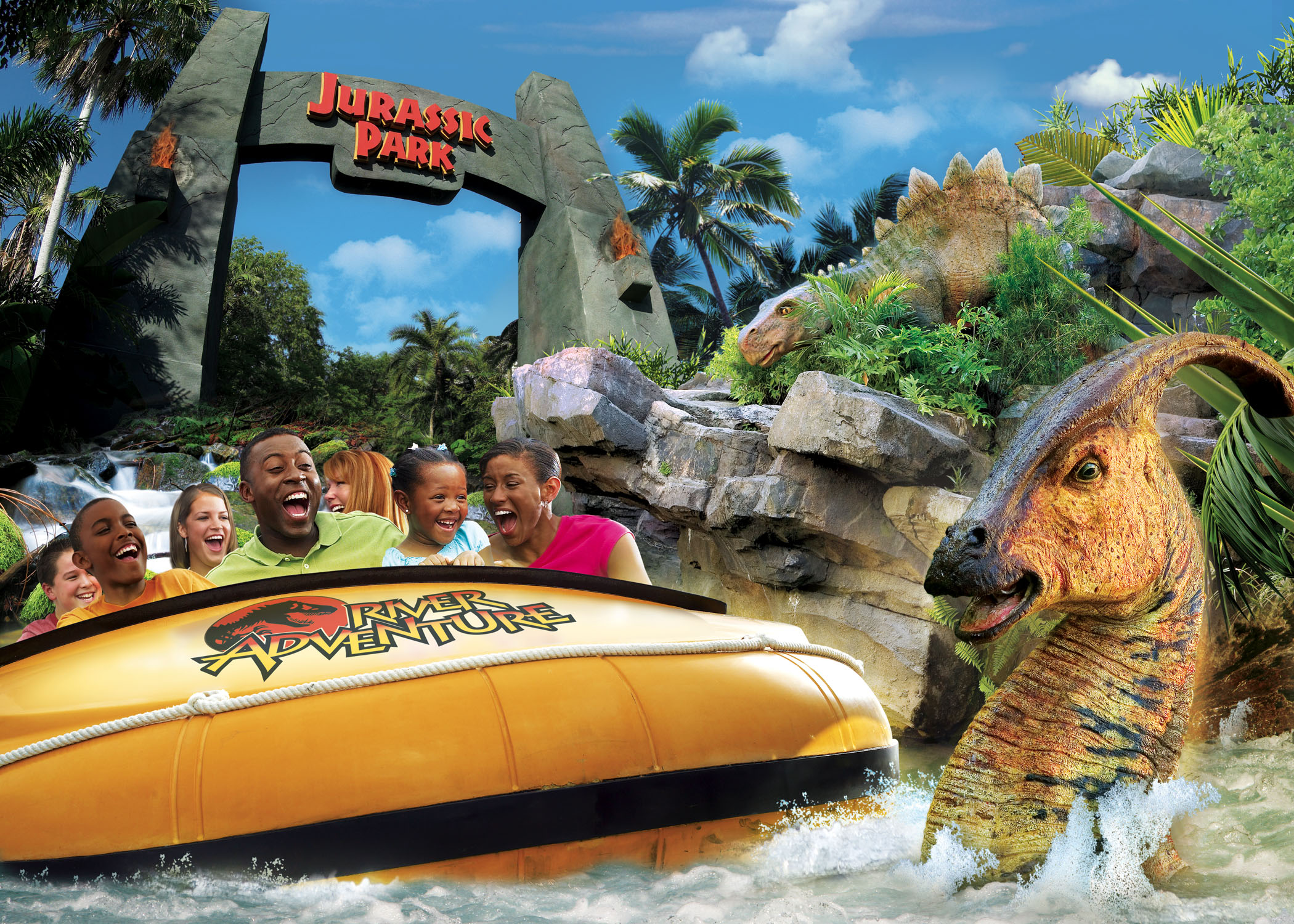 Jurassic Park River Adventure American Attractions