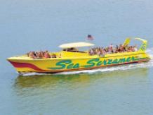 Clearwater Beach Tour with Sea Screamer Speedboat Ride