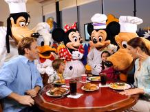 Chef Mickey's VIP Character Dinner with Limousine Transfers