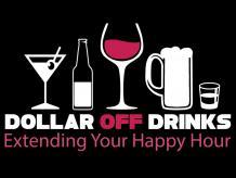 Dollar Off Drinks Card