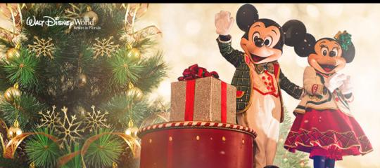 Join Mickey and friends this Christmas at