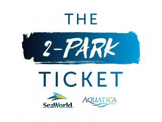 2-Park SeaWorld and Aquatica Ticket