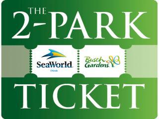 2 park seaworld and busch gardens ticket. beautiful ideas. Home Design Ideas