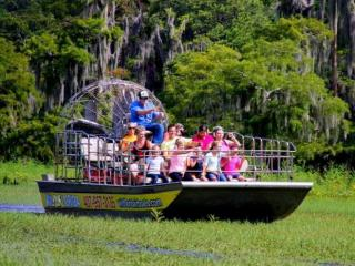 60 Minute Airboat Ride with Gator Park Admission