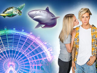 Icon Park Big Three Combo: The Wheel, Madame Tussauds & Sealife Aquarium