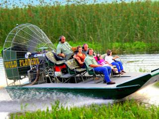 Wild Florida Private Airboat Ride with Gator Park Admission